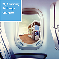 24/7 Currency Exchange Counters